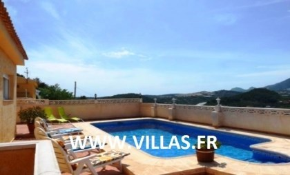 Location vacances Altea -  Maison - 6 personnes - Barbecue - Photo N° 1