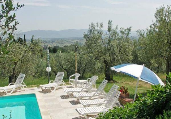 Ferienwohnungen Monte San Savino - Haus - 12 Personen - Grill - Foto Nr. 1