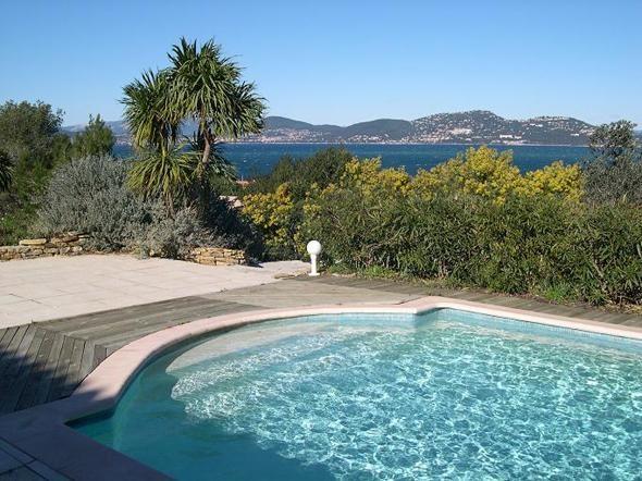 La piscine privative, sans vis-à-vis