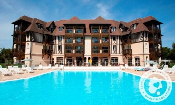 Location vacances Deauville -  Appartement - 5 personnes - Balcon - Photo N° 1