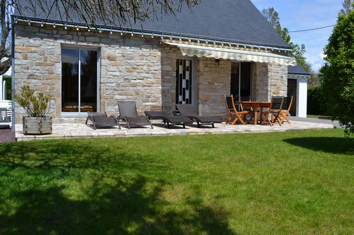 Holiday rentals Erdeven - House - 8 persons - BBQ - Photo N° 1