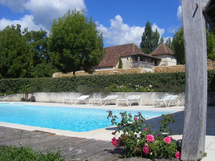 Location vacances Bergerac -  Maison - 10 personnes - Barbecue - Photo N° 1