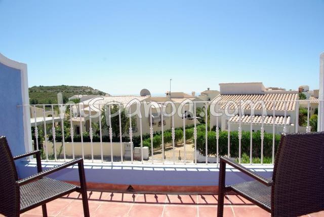 Location vacances Benitachell/el Poble Nou de Benitatxell -  Appartement - 4 personnes - Salon de jardin - Photo N° 1