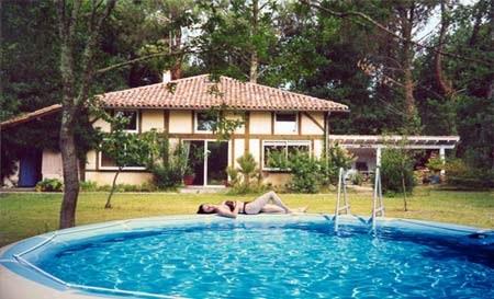Villa de charme, 14 pers + bébés, piscine chauffée, proche océan. - Messanges