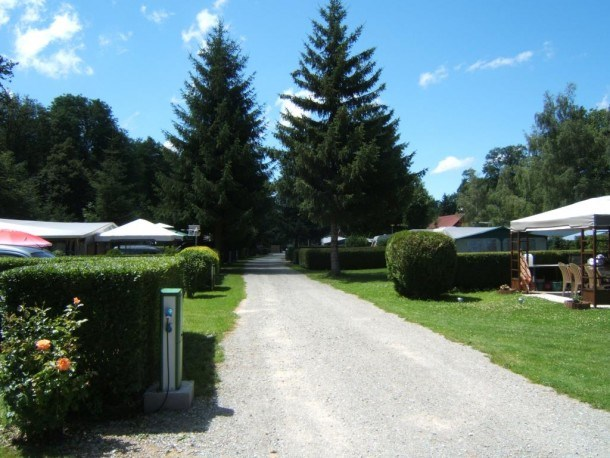 Flower Camping du Lac de la Seigneurie - Mobil home Confort 3 chambres + terrasse