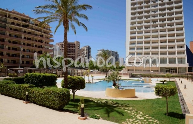 Location vacances Calp -  Appartement - 4 personnes - Salon de jardin - Photo N° 1