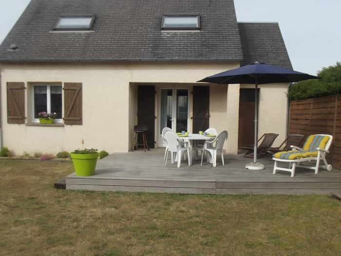Location vacances Portbail -  Maison - 5 personnes - Barbecue - Photo N° 1