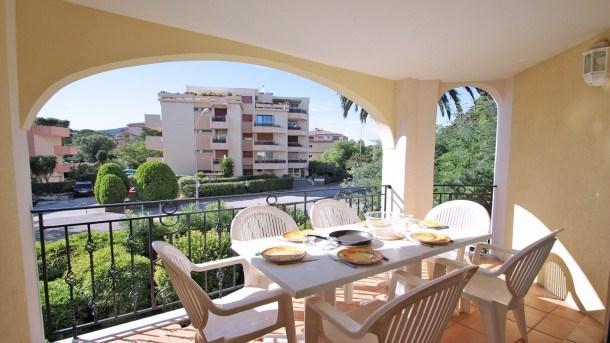 Location vacances Sainte-Maxime -  Appartement - 8 personnes - Télévision - Photo N° 1