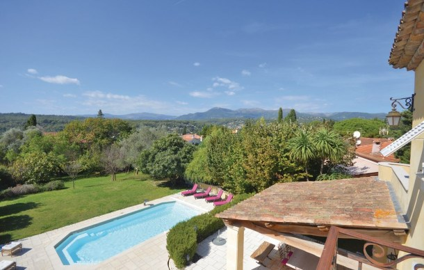 Location vacances La Colle-sur-Loup -  Maison - 8 personnes - Barbecue - Photo N° 1