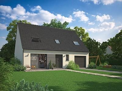 Maison  4 pièces + Terrain 1000 m² Blaincourt-Lès-Précy par MAISON FAMILIALE BAILLET en FRANCE