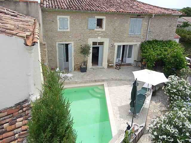 Location vacances Abeilhan -  Maison - 8 personnes - Barbecue - Photo N° 1