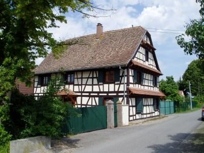 Alsatian House for 10 persons - Heidolsheim