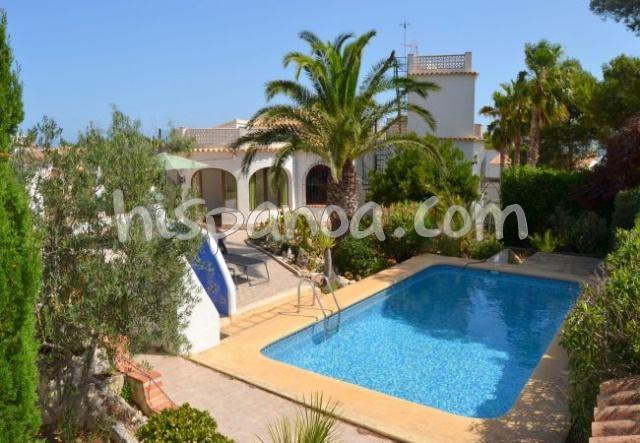 Location d'une villa à Javea avec piscine pour 4 personnes  we5085