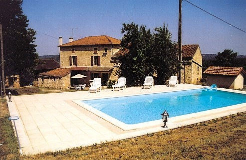 Location vacances Sauveterre-la-Lémance -  Maison - 8 personnes - Barbecue - Photo N° 1