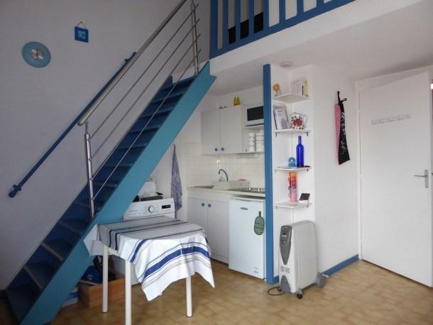 BISCARROSSE PLAGE - Adorable studio/mezzanine proche plage