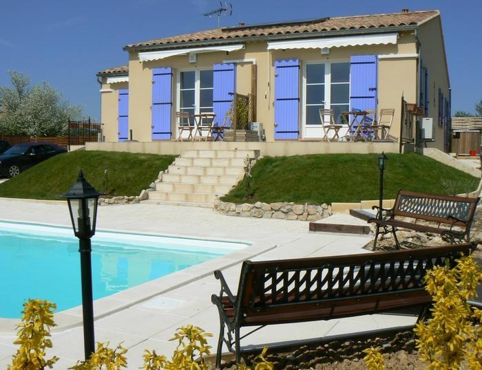 Appartement pour 8 pers. avec piscine privée, Malaucène