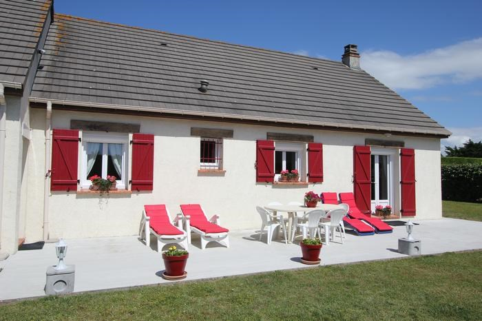 Location vacances Denneville -  Maison - 9 personnes - Barbecue - Photo N° 1