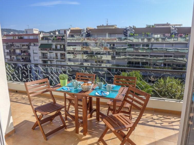 Location vacances Nice -  Appartement - 4 personnes - Salon de jardin - Photo N° 1