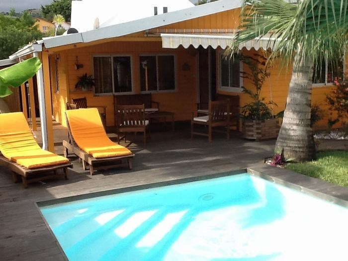 Villa pour 7 pers. avec piscine privée, Saint-Joseph