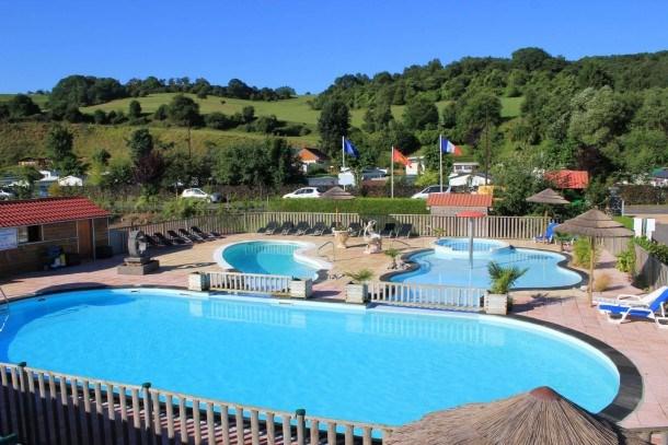 Camping Le Marqueval - Mobilhome LOGGIA 25m² + terrasse (2 chambres)