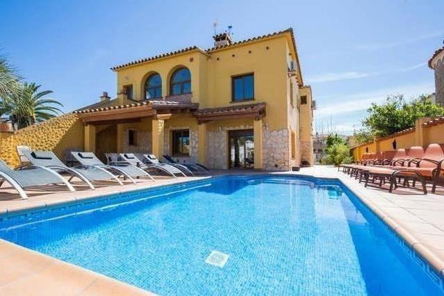 Das Haus und sein privater Pool