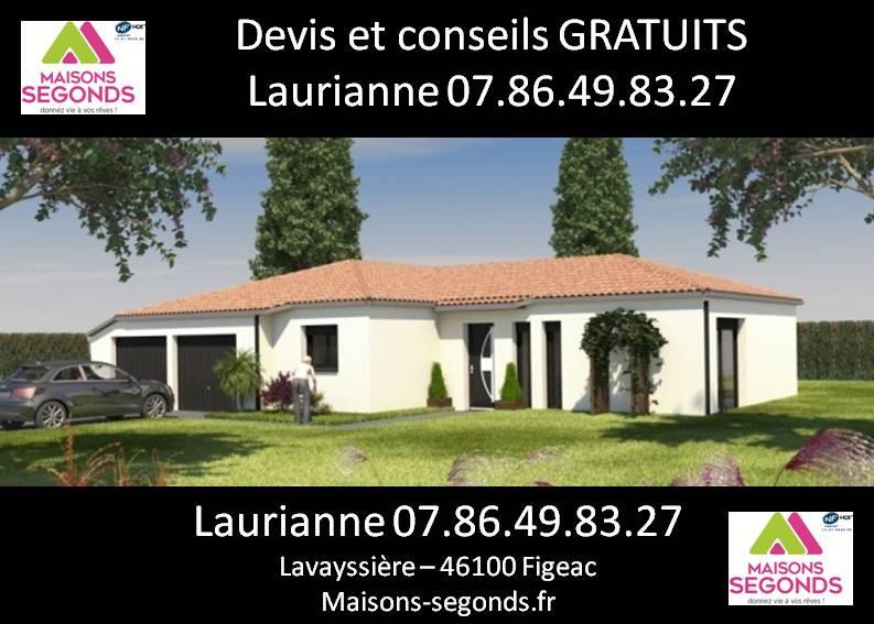 Maison  6 pièces + Terrain 1165 m² Camboulit par MAISONS SEGONDS