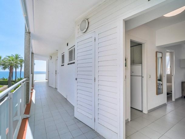 Location vacances Sant Pol de Mar -  Appartement - 4 personnes - Télévision - Photo N° 1