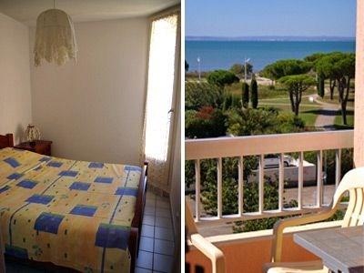 Le Mathilde : appartement - 37 m² - nombre pièces : 2 -couchage : 4. 2 pièces cabine en résidence en étage.