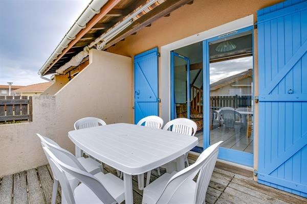 Location vacances Biscarrosse -  Maison - 6 personnes - Terrasse - Photo N° 1