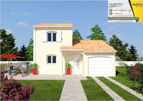 Maison  4 pièces + Terrain 350 m² Orange par MAISONS COTE SOLEIL SUD EST