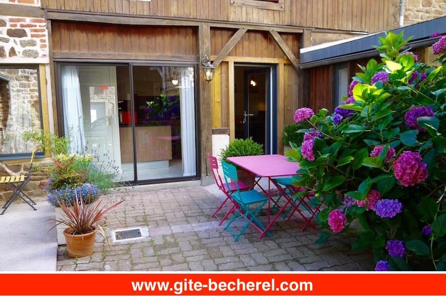 Ferienwohnungen Bécherel - Hütte - 5 Personen - Grill - Foto Nr. 1