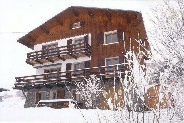 chalet  La Toussuire comprenant trois logements