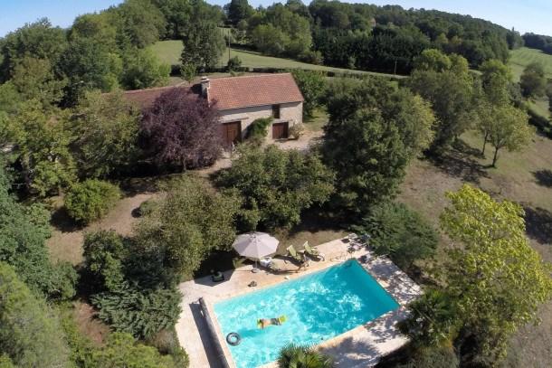 Location vacances Thédirac -  Maison - 8 personnes - Barbecue - Photo N° 1