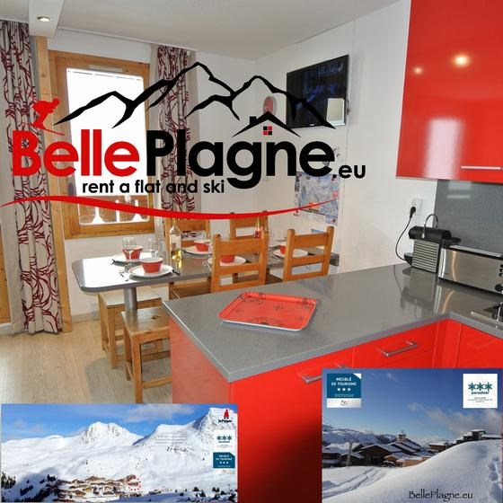 Location vacances Mâcot-la-Plagne -  Appartement - 6 personnes - Câble / satellite - Photo N° 1