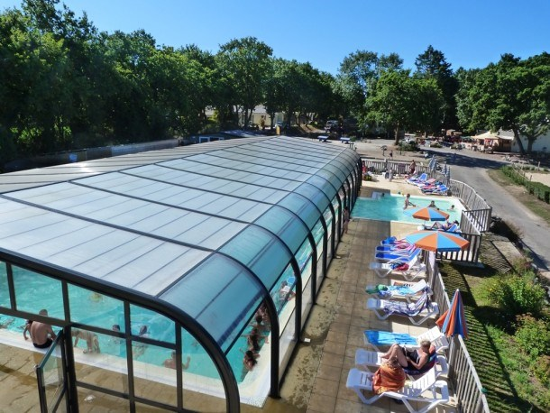 Camping Domaine de Brehadour - Mh 2ch 5 pers