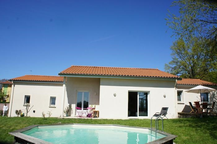 Holiday rentals Bellegarde-en-Forez - House - 7 persons - BBQ - Photo N° 1