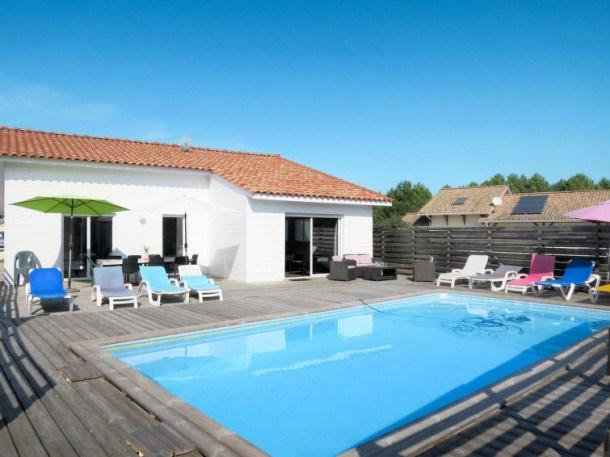 Location vacances Vendays-Montalivet -  Maison - 8 personnes - Barbecue - Photo N° 1