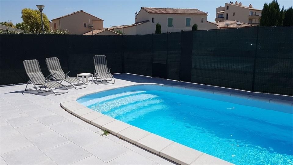 NARBONNE-PLAGE : Villa 4 pièces 7 couchages avec piscine privative