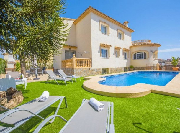 Location vacances Calp -  Appartement - 10 personnes - Barbecue - Photo N° 1