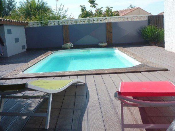 Location vacances Marseillan -  Maison - 8 personnes - Barbecue - Photo N° 1