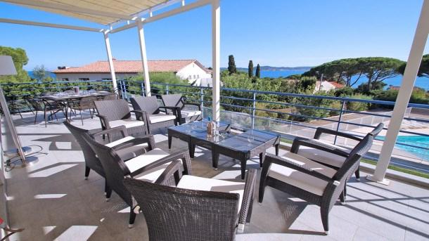 Location vacances Sainte-Maxime -  Appartement - 7 personnes - Télévision - Photo N° 1