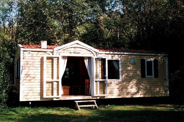 Camping Moulin du Périé - Mobile Home D Grand Confort pour 5 pers