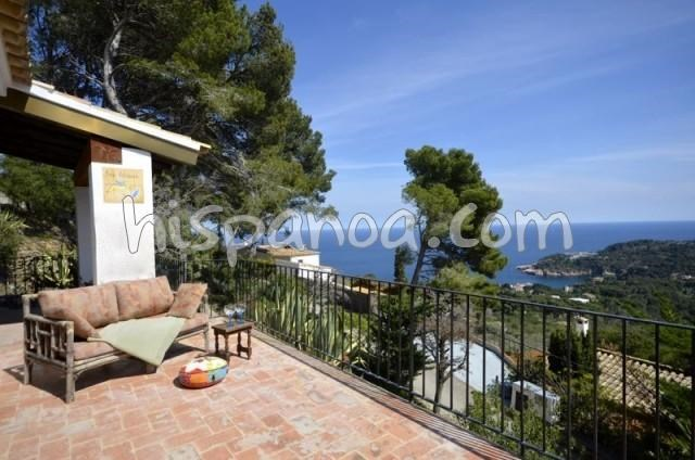 Holiday rentals Begur - House - 6 persons - Garden furniture - Photo N° 1