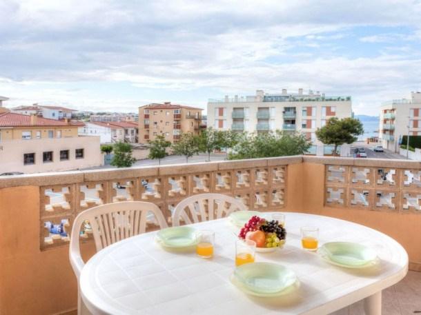 Location vacances l'Escala -  Appartement - 5 personnes - Terrasse - Photo N° 1