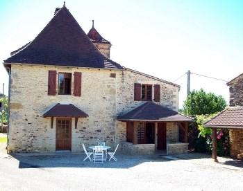 Location vacances Villefranche-du-Périgord -  Gite - 4 personnes - Barbecue - Photo N° 1