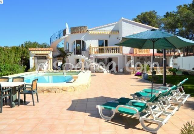Holiday rentals Jávea/Xàbia - House - 6 persons - BBQ - Photo N° 1