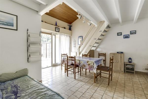 Biscarrosse plage, maison T2 mezzanine pour 6 personnes