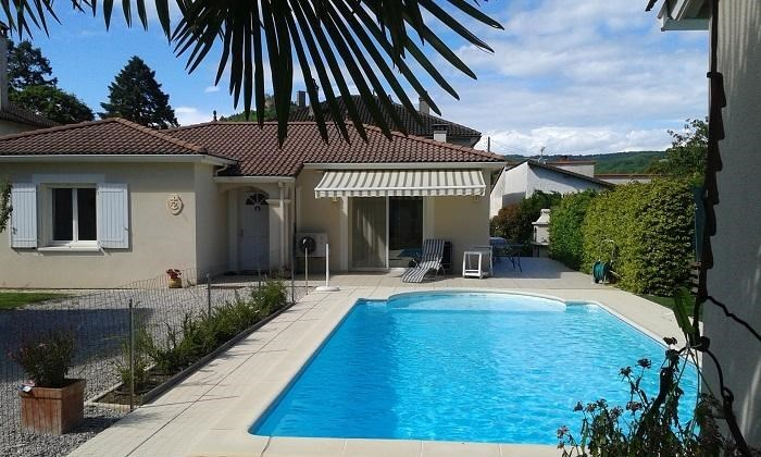 Villa pour 7 pers. avec piscine privée, Saint-Céré