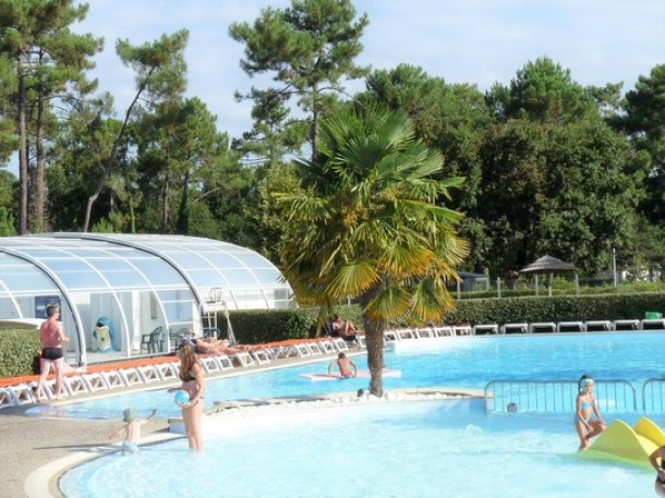Camping Les Viviers 4* - Mobil-home Relax TV Wifi - 3 chambres - 6 personnes
