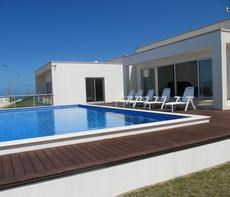 villa à louer avec piscine privé et vue mer